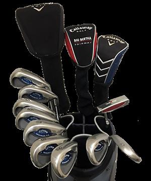 Callaway X16 golf club rentals