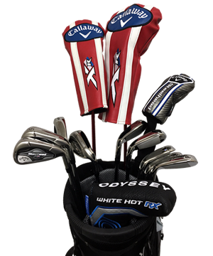 Callaway XR Golf Club Rentals