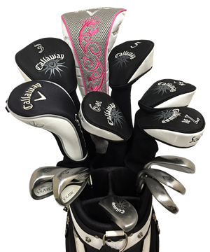 Callaway Solaire 14 Piece Ladies Golf Club Rentals