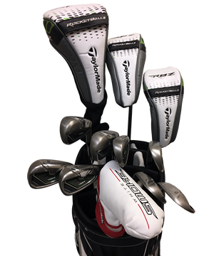 TaylorMade Rocket Ballz Stage 2 Golf Club Rentals