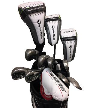TaylorMade Rocket Ballz Stage 2 Golf Club Rentals