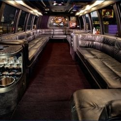 15 Passenger Limo Party Bus