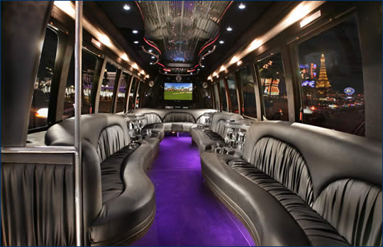 Las Vegas Shuttles >> Las Vegas Limo Shuttles and Party Buses - VIP Golf Services