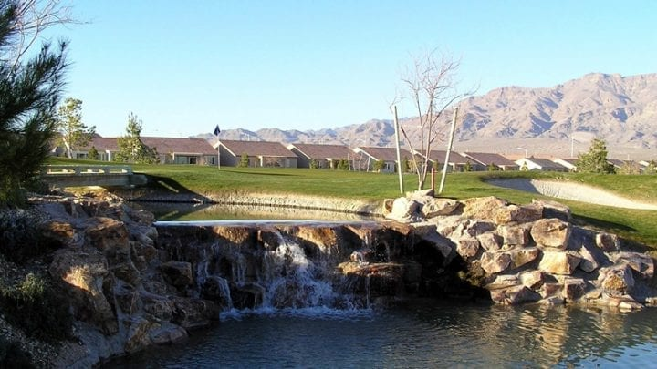 Aliante Golf Club - Waterfall