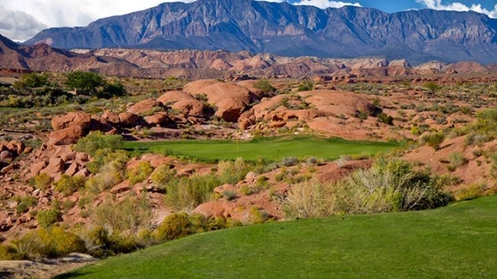 Coral Canyon Golf Course 8