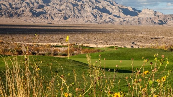 Las Vegas Paiute Golf Club Snow Mountain Course 11