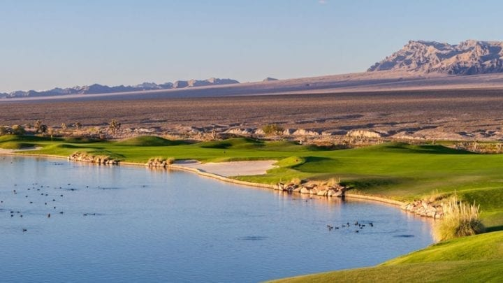 Las Vegas Paiute Golf Club Snow Mountain Course 13