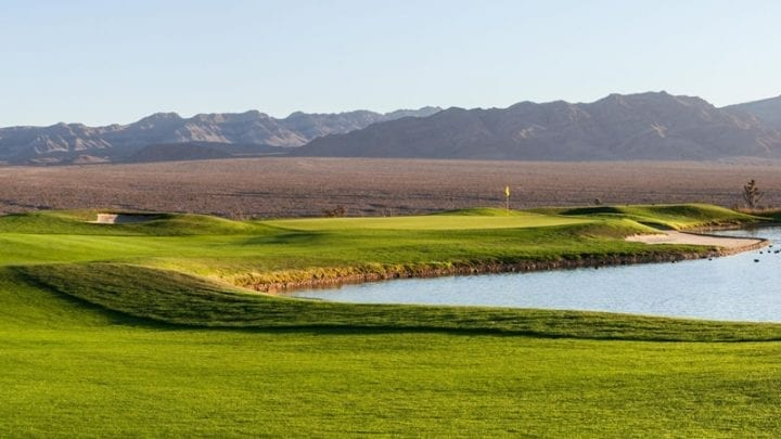 Las Vegas Paiute Golf Club Snow Mountain Course 18