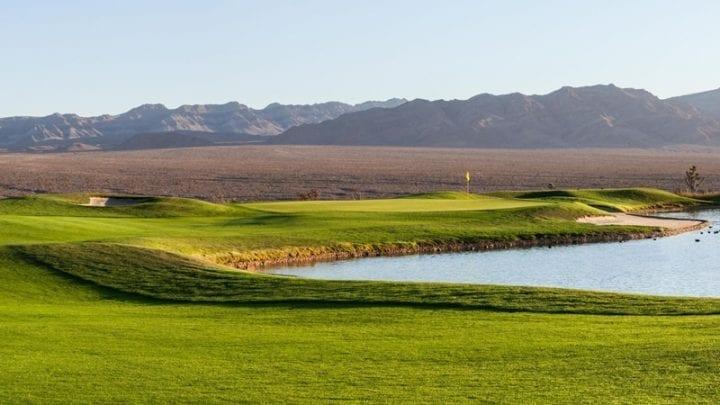 Las Vegas Paiute Golf Club Snow Mountain Course 18