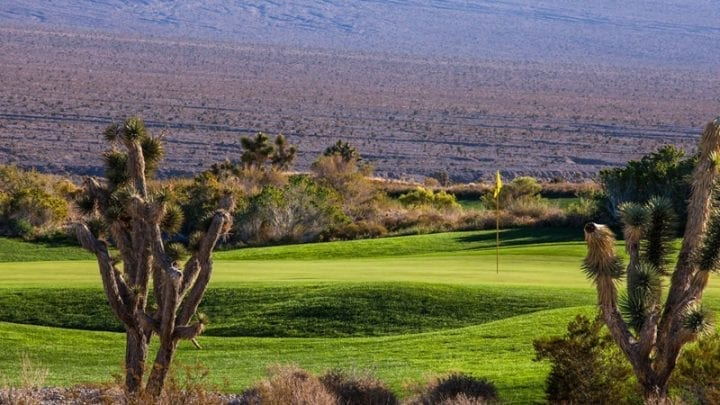 Las Vegas Paiute Golf Club Snow Mountain Course 17
