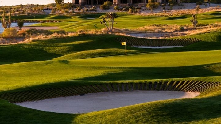 Las Vegas Paiute Golf Club Snow Mountain Course 4