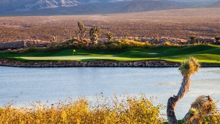 Las Vegas Paiute Golf Club Snow Mountain Course 6