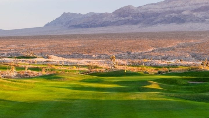 Las Vegas Paiute Golf Club Snow Mountain Course 8