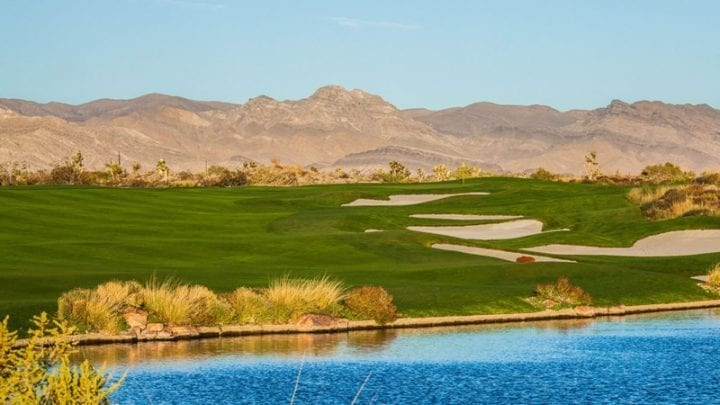 Las Vegas Paiute Golf Club Sun Mountain Course 10
