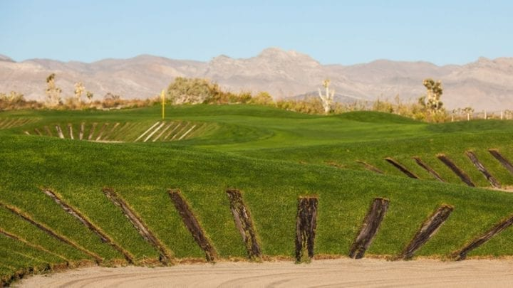 Las Vegas Paiute Golf Club Sun Mountain Course 12