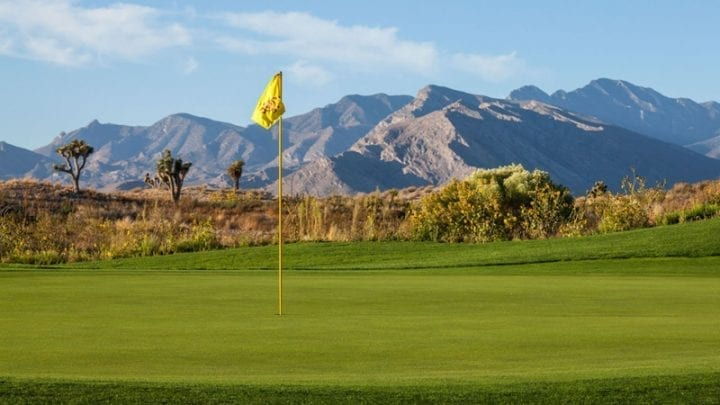 Las Vegas Paiute Golf Club Sun Mountain Course 13