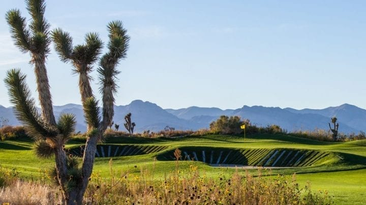 Las Vegas Paiute Golf Club Sun Mountain Course 15