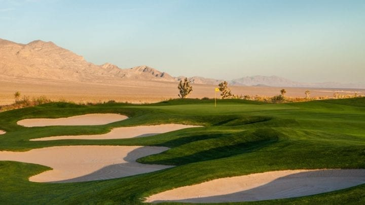 Las Vegas Paiute Golf Club Sun Mountain Course 17