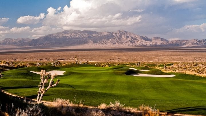 Las Vegas Paiute Golf Club Sun Mountain Course 4