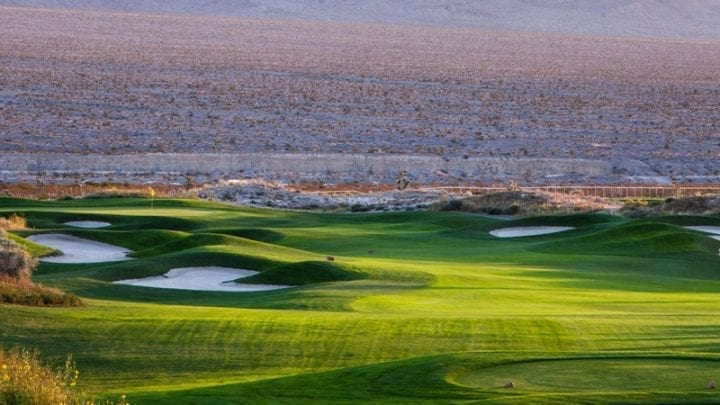 Las Vegas Paiute Golf Club Sun Mountain Course 7