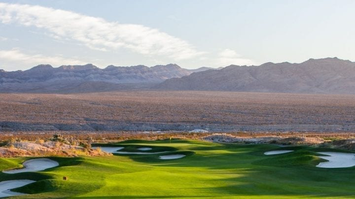 Las Vegas Paiute Golf Club Sun Mountain Course 8