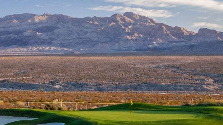 Las Vegas Paiute Golf Club Sun Mountain Course 9