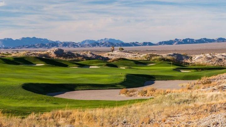 Las Vegas Paiute Golf Club Wolf Course 12