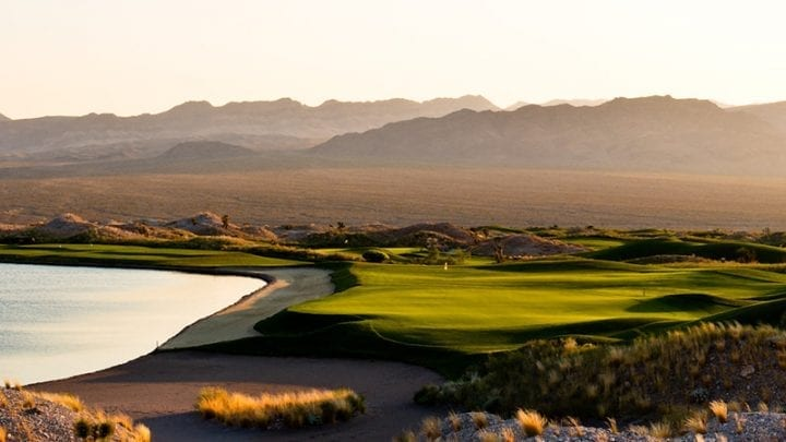 Las Vegas Paiute Golf Club Wolf Course 8