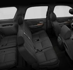 Las Vegas SUV Transportation Interior 1