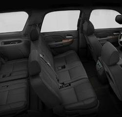 Las Vegas SUV Transportation Interior 1