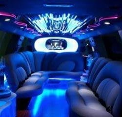 Las Vegas Stretched SUV Limo Transportation Interior 1