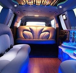 Las Vegas Stretched SUV Limo Transportation Interior 4
