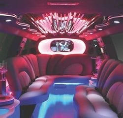 Las Vegas Stretched SUV Limo Transportation Interior 5