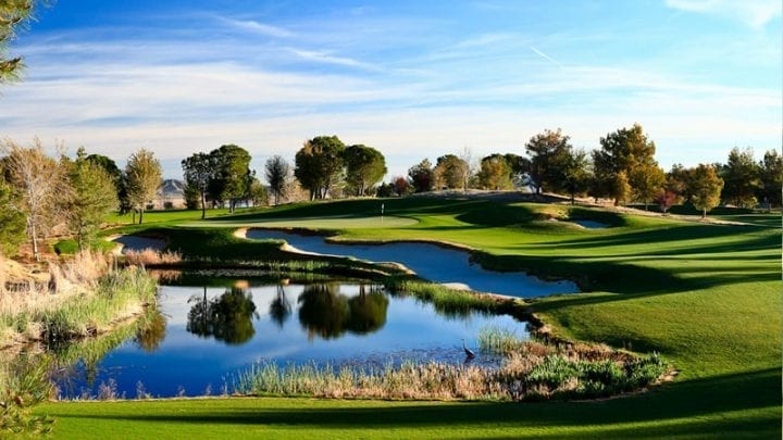 Primm Valley Lakes Golf Course 8