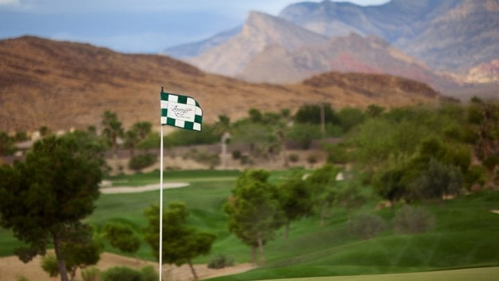 Red Rock Arroyo Golf Course 8