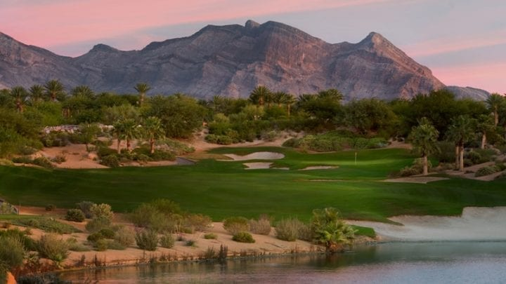 Red Rock Arroyo Golf Course 9