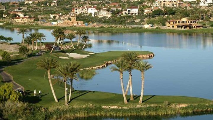 Reflection Bay Golf Course 10