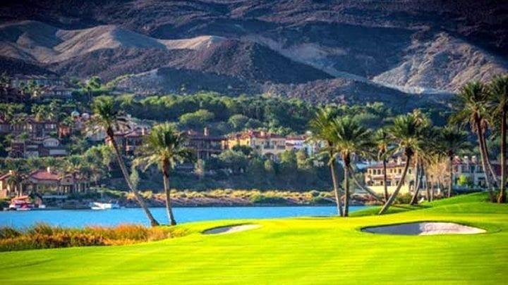 Reflection Bay Golf Course 12