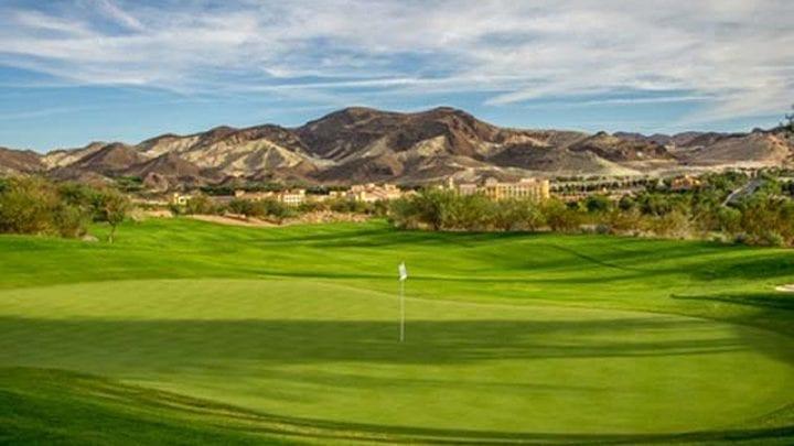 Reflection Bay Golf Course 14