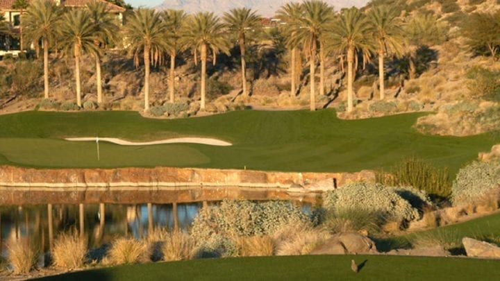 Reflection Bay Golf Course 6