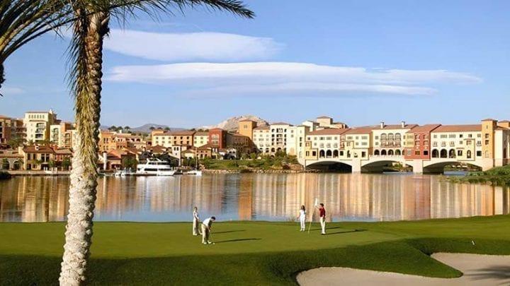 Reflection Bay Golf Course 7
