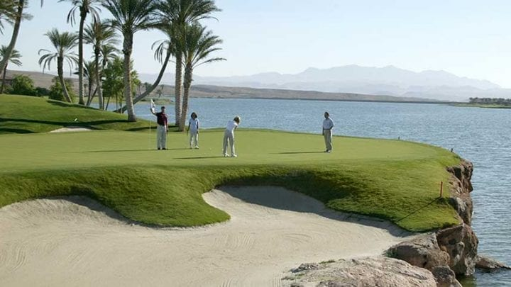 Reflection Bay Golf Course 8