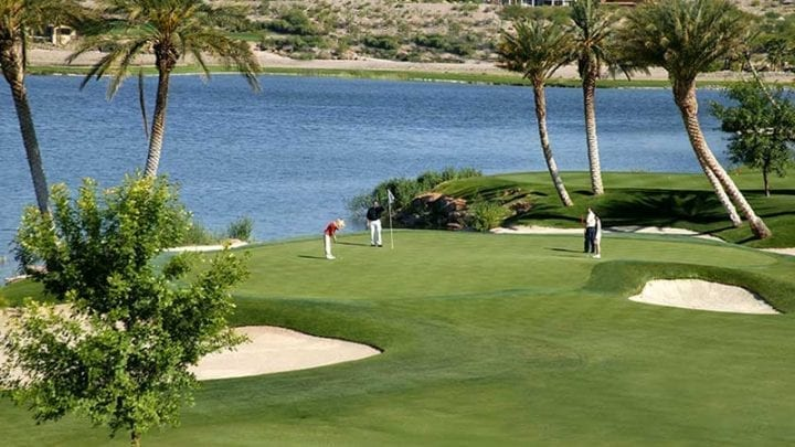 Reflection Bay Golf Course 9