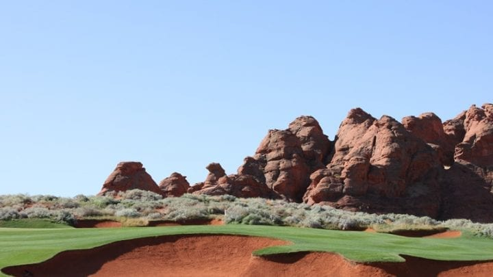 Sand Hollow Golf Course 4