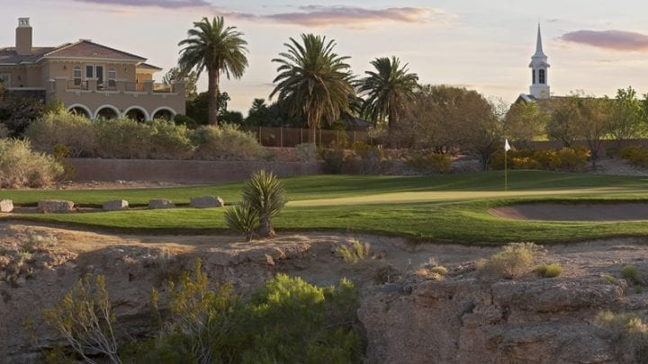TPC Las Vegas Golf Course 4