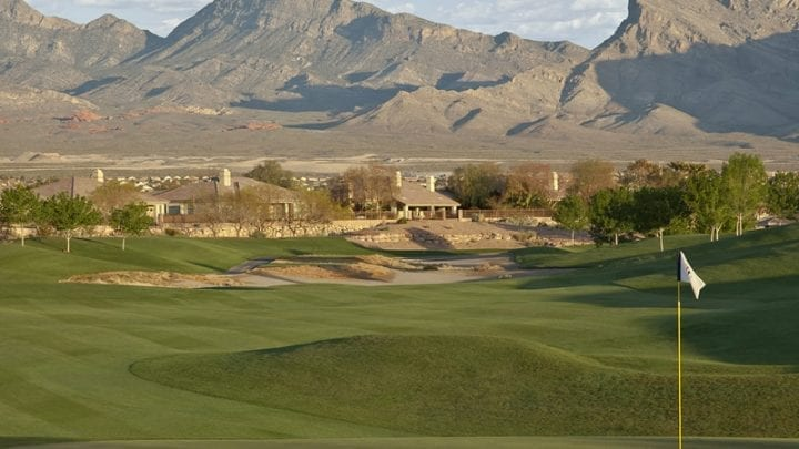 TPC Las Vegas Golf Course 8
