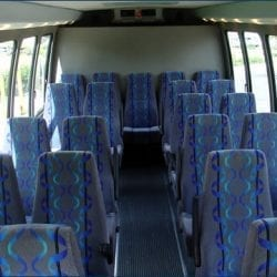 Transportation Shuttles - Forward Facing Interior