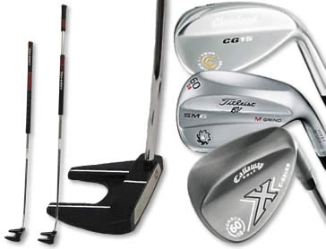 Lob Wedge and Long Putter Rental Additions