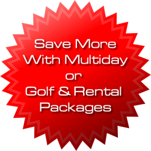 Las Vegas Rental Club and Golf Package Specials