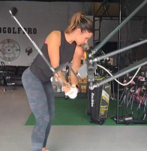 RoboGolfPro Las Vegas Swing Trainer